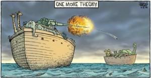 how the dinosaurs went extinct - noah's ark