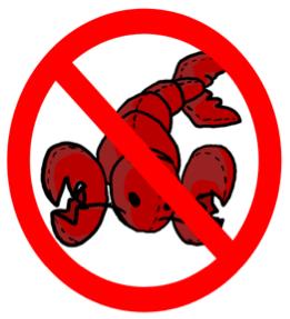 the bible says don't eat shellfish shrimp lobster