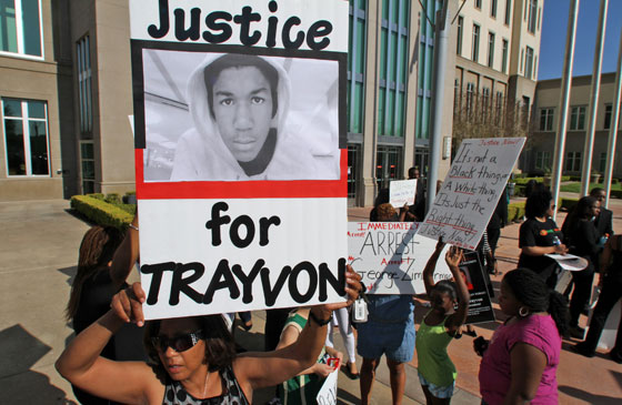 justice for trayvon martin george zimmerman case