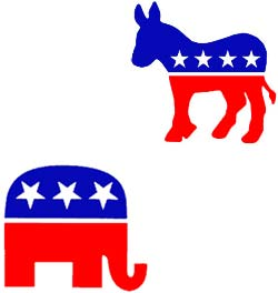 idolatry jesus god republican elephant democrat donkey