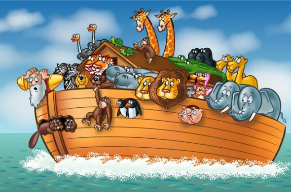noah's ark genesis bible myth jesus
